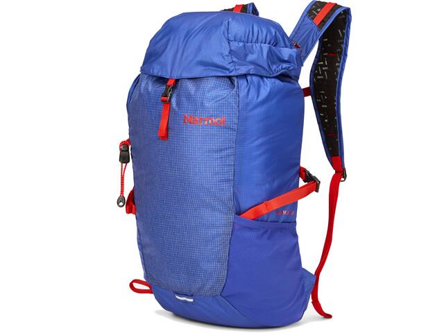 Marmot Kompressor Dagrugzak 18l, blauw/rood